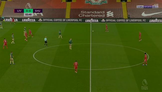 ارنولد كاد ان يسجل هدف خرافي من قبل منتصف الملعب امام شيفيلد