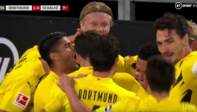 اهداف مباراة بوروسيا دورتموند وفرايبورج (3-0) الدوري الالماني