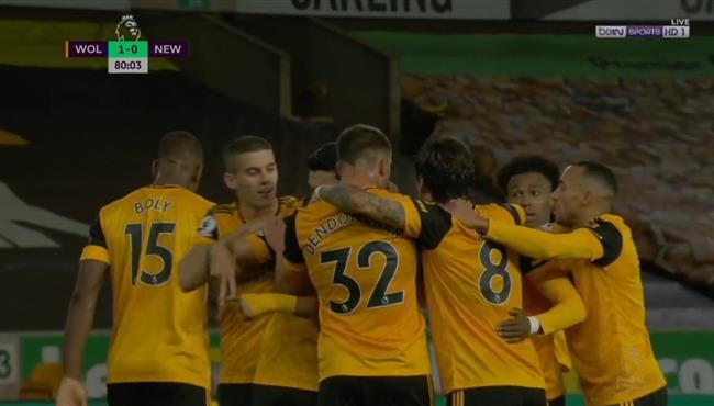 اهداف مباراة ولفرهامبتون ونيوكاسل (1-1) الدوري الانجليزي