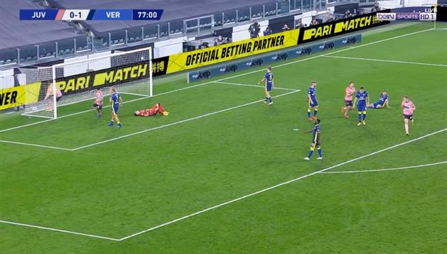 اهداف مباراة يوفنتوس وهيلاس فيرونا (1-1) الدوري الايطالي