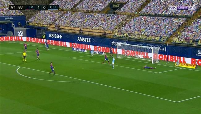 اهداف مباراة سيلتا فيجو وليفانتي (1-1) الدوري الاسباني