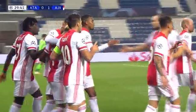 اهداف مباراة اياكس واتالانتا (2-2) دوري ابطال اوروبا