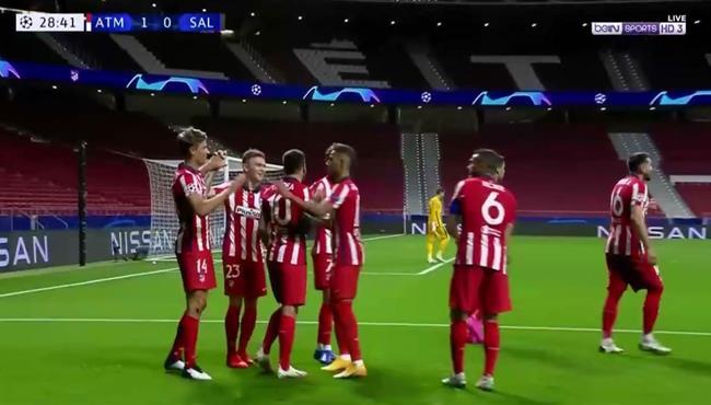 اهداف مباراة اتلتيكو مدريد وسالزبورج (3-2) دوري ابطال اوروبا