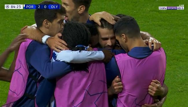 اهداف مباراة بورتو واولمبياكوس (2-0) دوري ابطال اوروبا