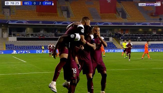 اهداف مباراة باريس سان جيرمان وباشاك شهير (2-0) دوري ابطال اوروبا