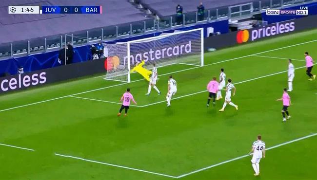 القائم يحرم جريزمان من تسجيل هدف امام يوفنتوس فى دوري ابطال اوروبا