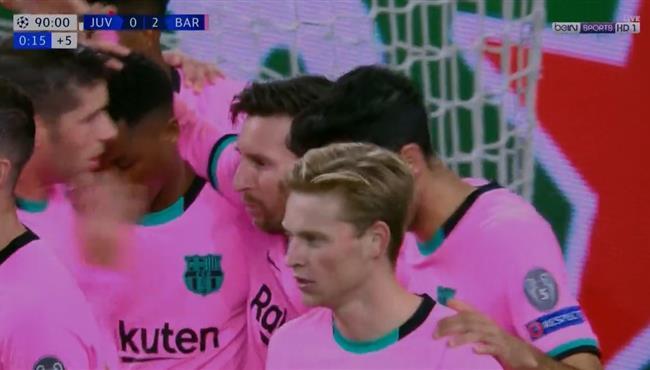 اهداف مباراة برشلونة ويوفنتوس فى دوري ابطال اوروبا .. مباشر