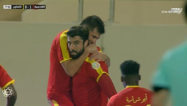 هدف فوز القادسية على التعاون (1-0) الدوري السعودي