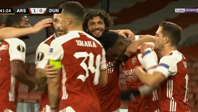 اهداف مباراة ارسنال ودوندالك (3-0) الدوري الاوروبي