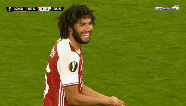 ملخص لمسات محمد النني في مباراة ارسنال ودوندالك بالدوري الاوروبي