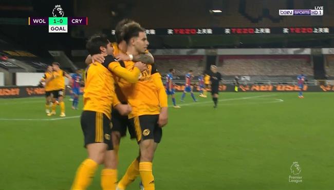 اهداف مباراة ولفرهامبتون وكريستال بالاس (2-0) الدوري الانجليزي