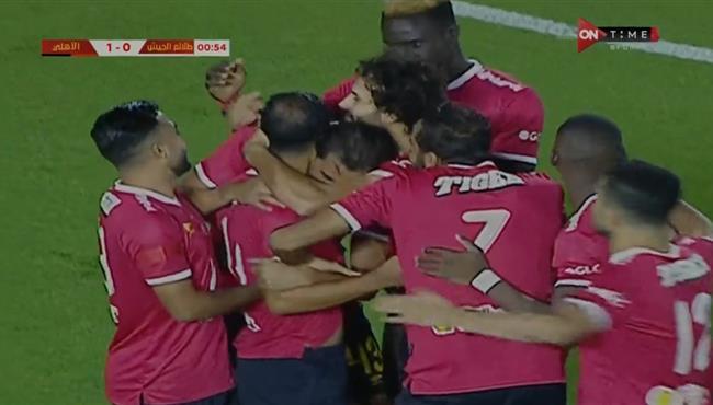 اهداف مباراة الاهلي وطلائع الجيش في الدوري المصري .. مباشر