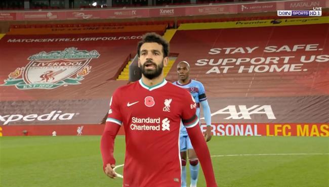 ملخص لمسات محمد صلاح في مباراة ليفربول ووست هام
