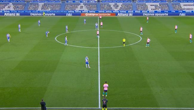 ملخص مباراة برشلونة وديبورتيفو الافيس (1-1) الدوري الاسباني