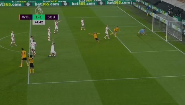 اهداف مباراة ولفرهامبتون وساوثهامبتون (1-1) الدوري الانجليزي