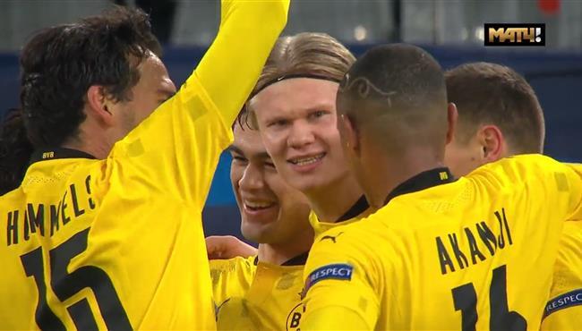 اهداف مباراة بوروسيا دورتموند وكلوب بروج (3-0) دوري ابطال اوروبا