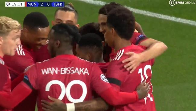 اهداف مباراة مانشستر يونايتد وباشاك شهير (4-1) دوري ابطال اوروبا