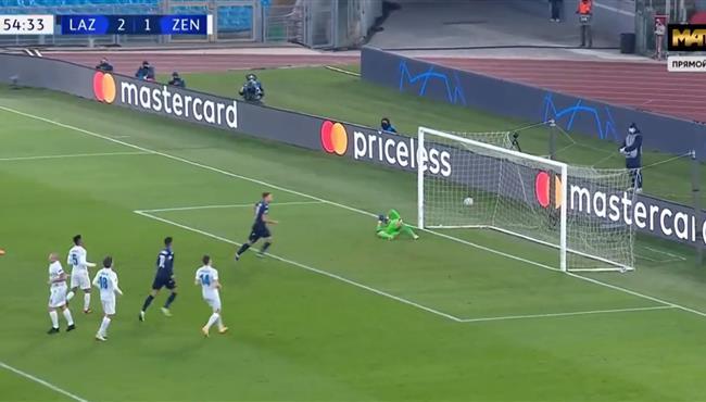 اهداف مباراة لاتسيو وزينيت (3-1) دوري ابطال اوروبا