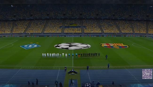 ملخص مباراة برشلونة ودينامو كييف (4-0) دوري ابطال اوروبا