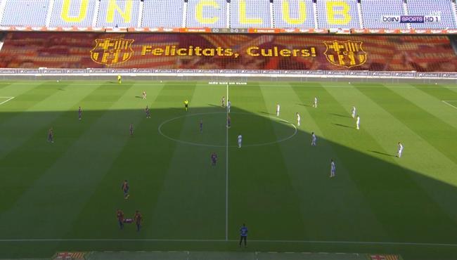 ملخص مباراة برشلونة واوساسونا (4-0) الدوري الاسباني