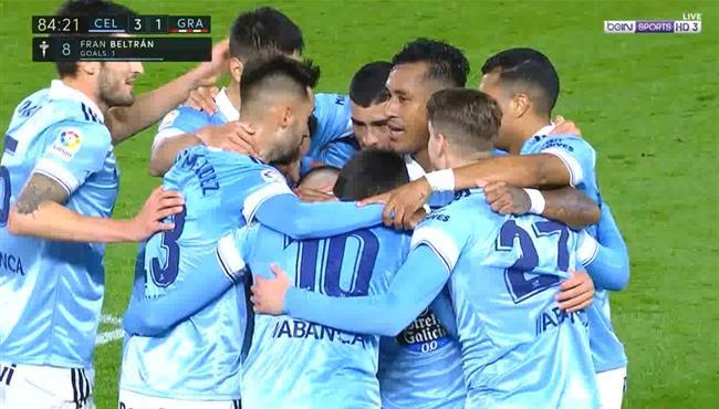 اهداف مباراة سيلتا فيجو وغرناطة (3-1) الدوري الاسباني