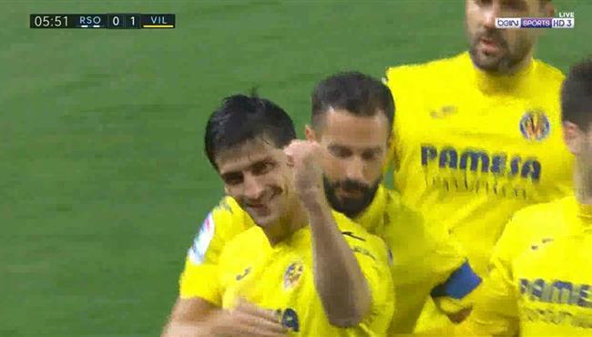 اهداف مباراة فياريال وريال سوسيداد (1-1) الدوري الاسباني