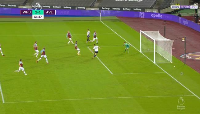 تريزيجيه يهدر فرصة هدف محقق امام وست هام في الدوري الانجليزي