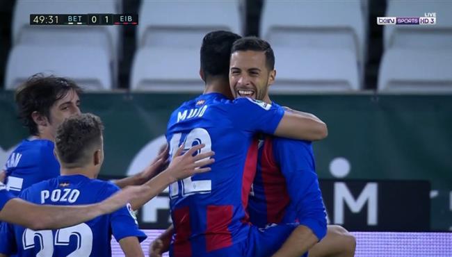 اهداف ايبار وريال بيتيس (2-0) الدوري الاسباني