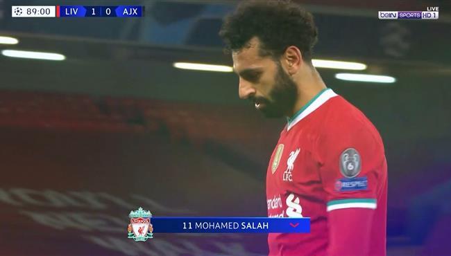 ملخص لمسات محمد صلاح في مباراة ليفربول واياكس