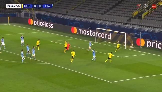 اهداف مباراة بوروسيا دورتموند ولاتسيو (1-1) دوري ابطال اوروبا