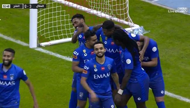اهداف مباراة الهلال والفتح (3-0) الدوري السعودي