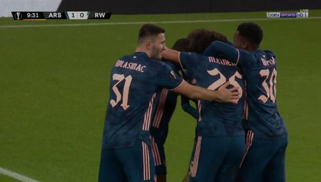 اهداف مباراة ارسنال ورابيد فيينا (4-1) الدوري الاوروبي