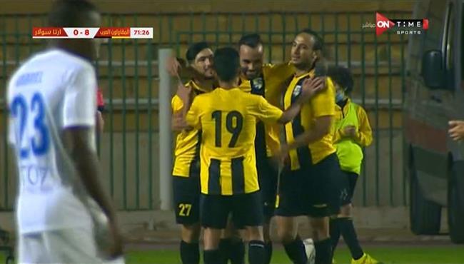 اهداف مباراة المقاولون العرب وارتا سولار (9-1) الكونفيدرالية