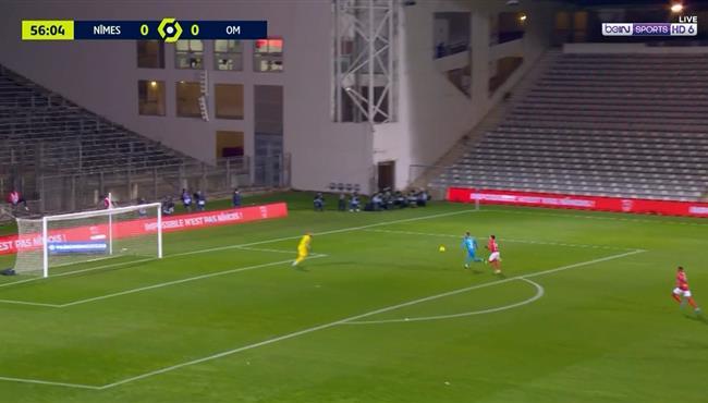 هدف مارسيليا الاول الرائع فى مرمي نيم (1-0) الدوري الفرنسي