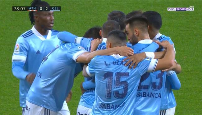 اهداف مباراة سيلتا فيجو واتلتيك بلباو (2-0) الدوري الاسباني