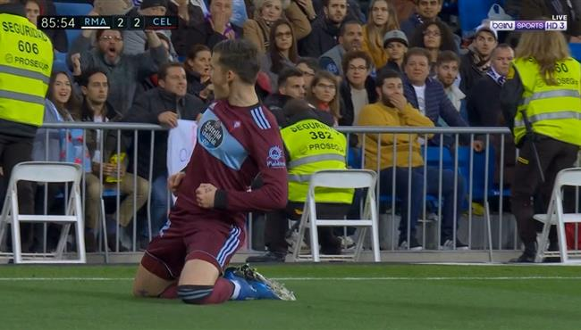 هدف تعادل سيلتا فجو الرائع القاتل مع ريال مدريد (2-2) تعليق حفيظ دراجي