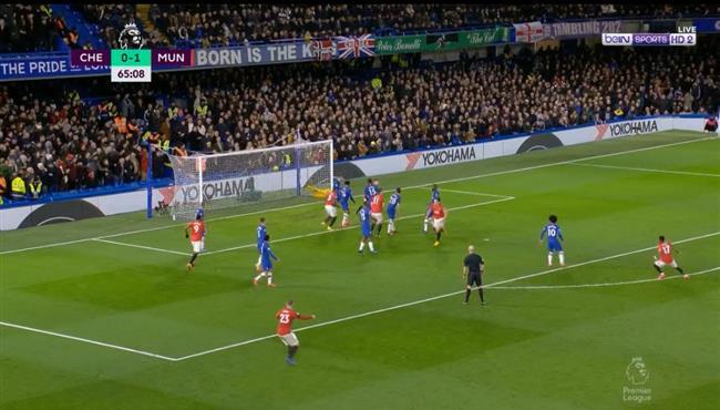 هدف مانشستر يونايتد الثاني فى مرمى تشيلسي (2-0) الدوري الانجليزي