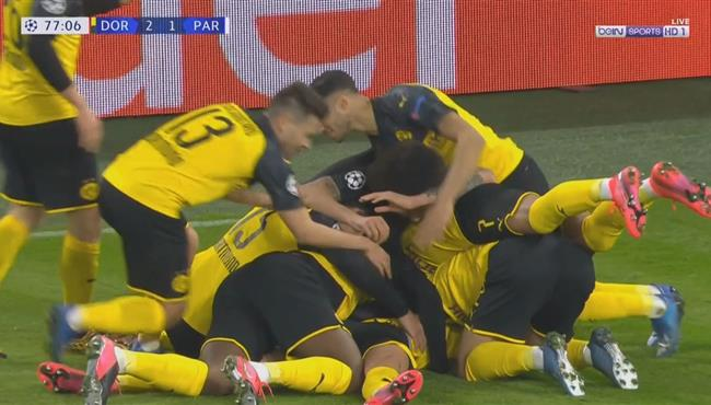 اهداف مباراة دورتموند وباريس سان جيرمان (2-1) دوري ابطال اوروبا