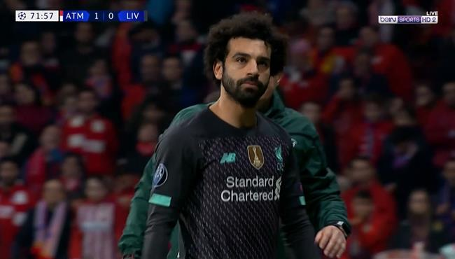 ملخص لمسات محمد صلاح في مباراة ليفربول واتلتيكو مدريد