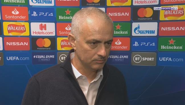 تصريحات مورينيو بعد فوز لايبزج علي توتنهام في دوري ابطال اوروبا