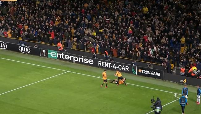 اهداف مباراة ولفرهامبتون واسبانيول (4-0) الدوري الاوروبي