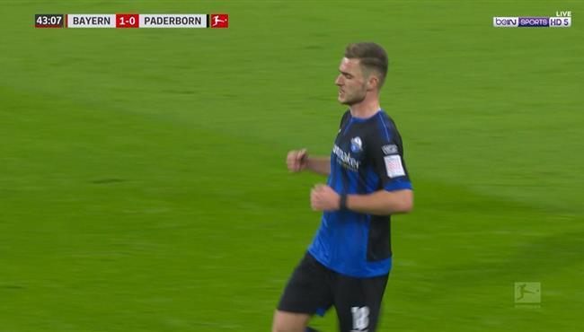 لاعب بادربورن يتلاعب بنوير ويسجل هدف رائع في مرمي بايرن ميونخ