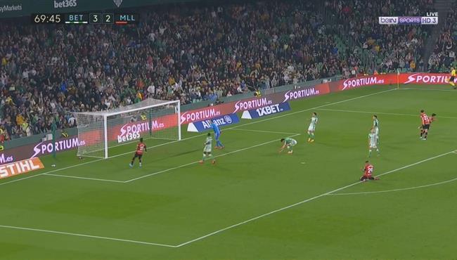 اهداف مباراة ريال بيتيس وريال مايوركا (3-3) الدوري الاسباني