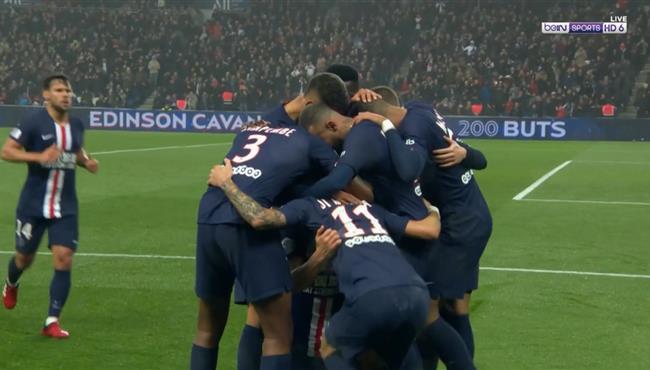 اهداف مباراة باريس سان جيرمان وبوردو (4-3) الدوري الفرنسي