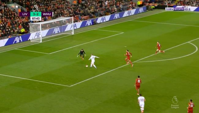 اليسون ينقذ مرماه من هدف تعادل وست هام مع ليفربول في الوقت القاتل