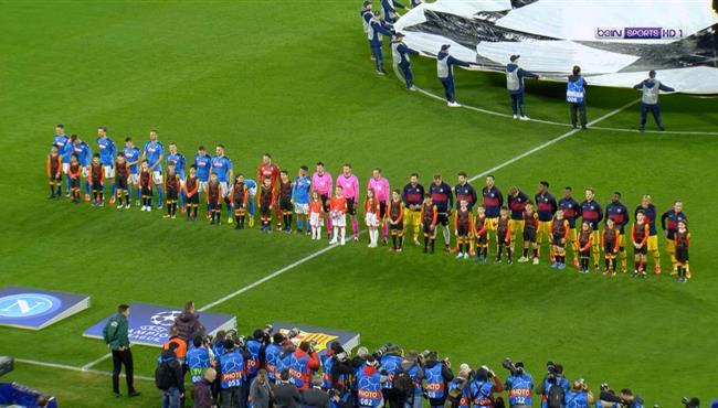 ملخص مباراة برشلونة ونابولي (1-1) دوري ابطال اوروبا