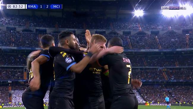 اهداف مباراة مانشستر سيتي وريال مدريد (2-1) دوري ابطال اوروبا