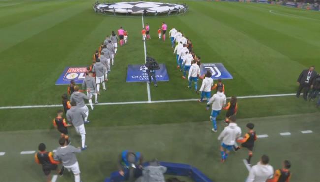 ملخص مباراة يوفنتوس وليون (0-1) دوري ابطال اوروبا