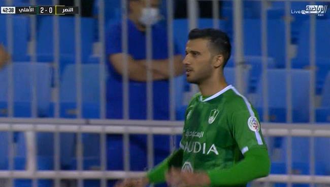 هدف عمر السومة في مرمي النصر (2-0) الدوري السعودي