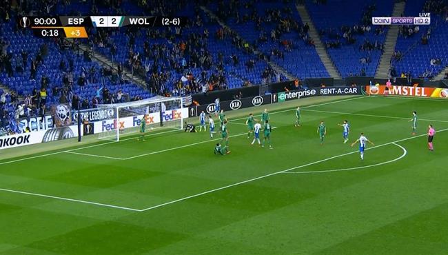 اهداف مباراة ولفرهامبتون واسبانيول (2-3) الدوري الاوروبي